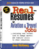 Real resumes for Aviation   Travel Jobs