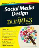 download ebook social media design for dummies pdf epub