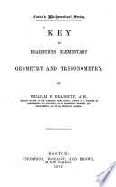 Key to Bradbury s Elementary  Geometry and Trigonometry
