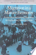 Migration in a Mature Economy