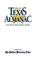 Texas Almanac  1992 93