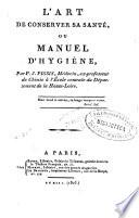 illustration du livre L'art de conserver sa santé, ou Manuel d'hygiène