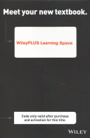 Visualizing Nutrition Everyday Choices 3e Wileyplus Learning Space Student Package