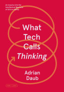 What Tech Calls Thinking Book