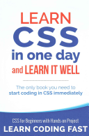 Learn CSS in One Day and Learn It Well  Includes Html5