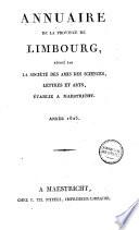 Annuaire de la province de Limbourg