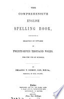 The comprehensive English spelling book