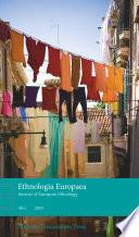 Ethnologia Europea Vol 40 1 book