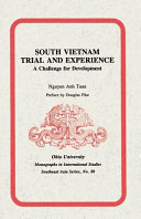 South Vietnam, Trial and Experience