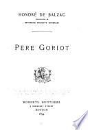 P  re Goriot