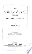 The Tablet Of Shadows : ...