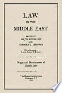 Origin And Development Of Islamic Law book