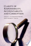 Corruption Accountability And Clarity Of Responsibility