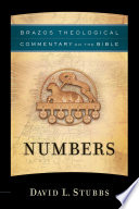 Numbers  Brazos Theological Commentary on the Bible