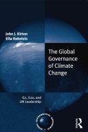 The Global Governance of Climate Change Book