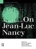 download ebook on jean-luc nancy pdf epub