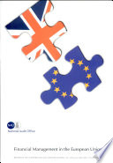 Financial Management in the European Union