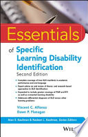 Essentials of Specific Learning Disability Identification