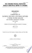 The Consumer Financial Protection Bureau's Semi-annual Report to Congress