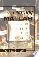 Learning MATLAB
