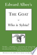 The Goat  or Who Is Sylvia   Broadway Edition