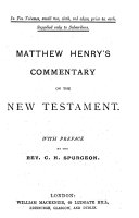 An Exposition of the New Testament