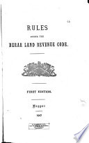 Rules Under the Berar Land Revenue Code  1896