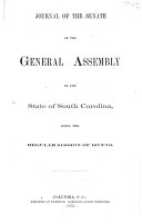download ebook journal of the senate of the state of south carolina for the called session of ... pdf epub