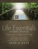 Life Essentials Study Bible