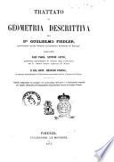 Trattato Di Geometria Descrittiva