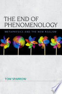 End of Phenomenology