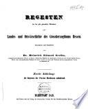 Regesten der bis jetzt gedruckten Urkunden zur Landes- und Orts-Geschichte des Grossherzogthums Hessen