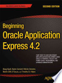 Beginning Oracle Application Express 4 2