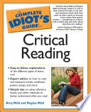 The Complete Idiot s Guide to Critical Reading