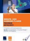 Gabler | MLP Berufs- und Karriere-Planer Technik 2010 | 2011