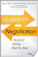 Quantum Negotiation