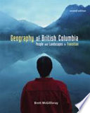 Geography of British Columbia  2nd ed