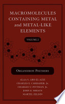 Macromolecules Containing Metal and Metal Like Elements  Organoiron Polymers