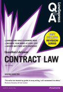 Law Express Question and Answer  Contract Law  Q A revision guide