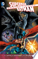 Worlds' Finest Vol. 6: The Secret History Of Superman And Batman : the grave! flashing back to the childhoods of...