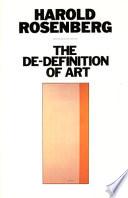 The De Definition of Art