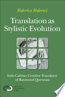 Translation as Stylistic Evolution