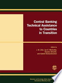 Central Banking Technical Assistance To Countries In Transition