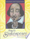 Weekly Reader s Read Magazine Presents Simply Shakespeare