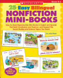 25 Easy Bilingual Nonfiction Mini Books