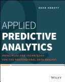 Applied Predictive Analytics