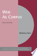 Web As Corpus
