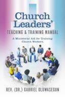 download ebook church leaders' teaching & training manual pdf epub