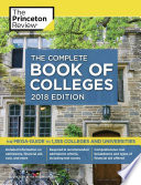 The Complete Book of Colleges  2018 Edition