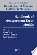 Handbook Of Measurement Error Models